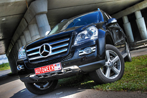 Тест драйв Mercedes-Benz GL500